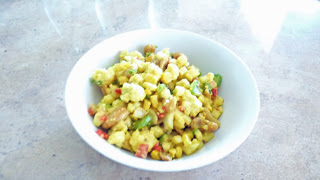 Creamy Curried Cauliflower Salad