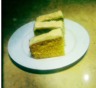 Vanilla Processor Cake