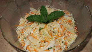 Minted Cabbage Salad
